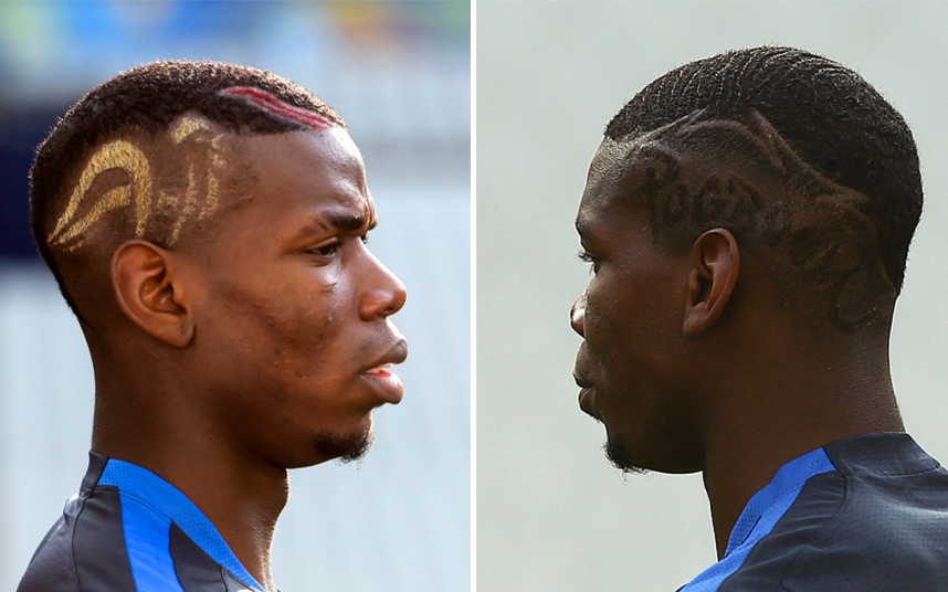 soccer blog the many hairstyles of paul pogba