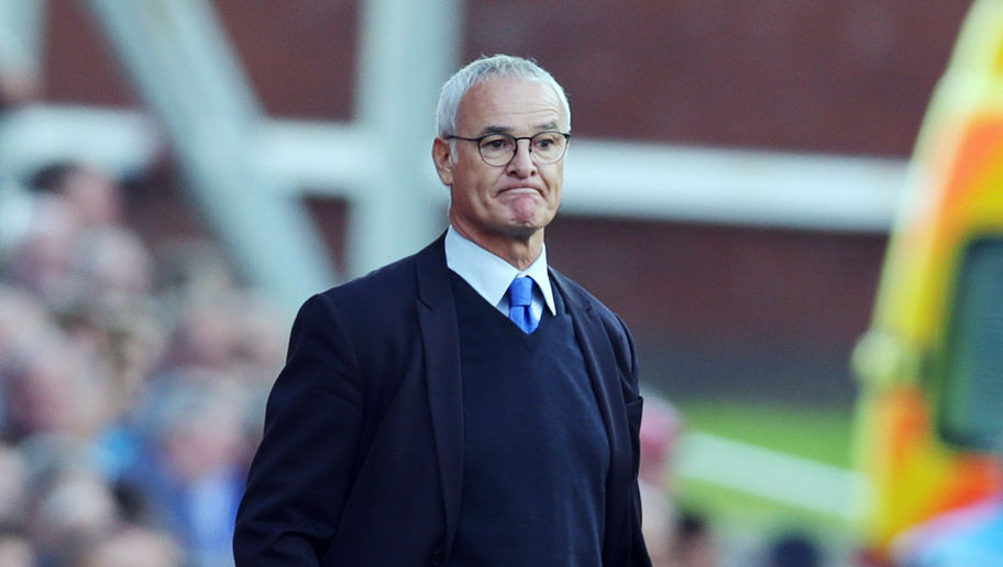 STOKE ON TRENT, ENGLAND - SEPTEMBER 19:  Claudio Ranieri manager of Leicester City during the Barclays Premier League match between Stoke City and Leicester City at Britannia Stadium on September 19, 2015 in Stoke on Trent, England. (Photo by Clint Hughes/Getty Images)