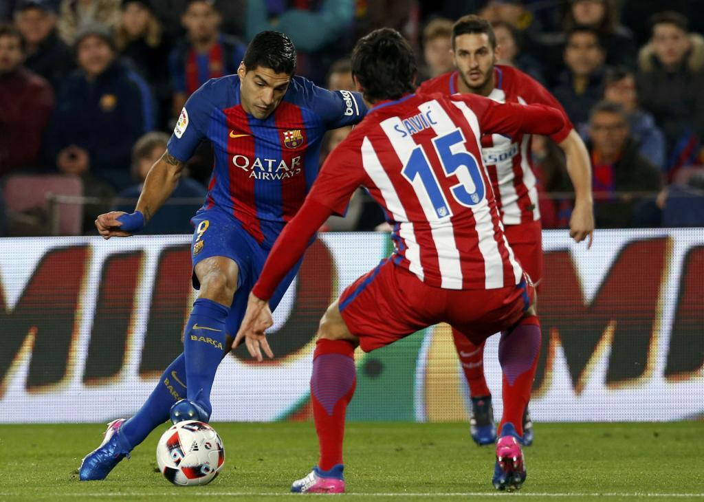 Football Soccer - Barcelona v Atletico Madrid  - Spanish King's Cup Semi-final second leg